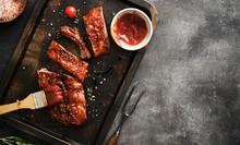 Delicious Barbecued Ribs Seaso...