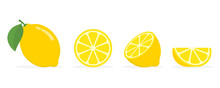 Fresh Lemon Fruits, Collection...