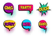 Omg, Ouch, Kiss, Party Set Spe...