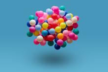 Colorful Balls Levitation In M...