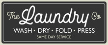 Vintage, Retro Laundry Room Sign For Stylish Home Design Vector