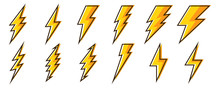 Lightning Icons - Vector.