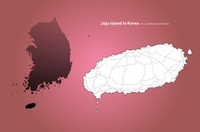 Jeju Island Map. Jeju Map Of K...