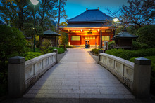 Japan. Tokyo In The Evening. A...
