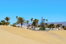 Dunes At Maspalomas In Gran Ca...