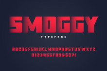 Smoggy Heavy Display Font Desi...