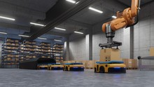 Robotic Arm For Packing With P...
