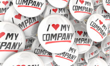 I Love My Company Business Pri...