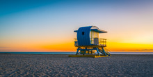 Sunset Sunrise Beach Miami Flo...