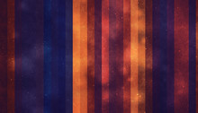 Dark Blue And Orange Colored V...