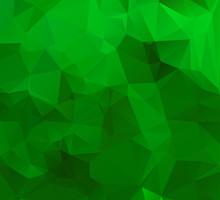 Abstract Multicolor Emerald Gr...