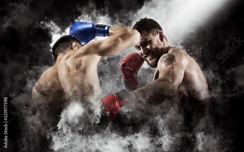 Fotografía Box professional match