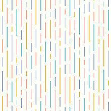 Vector Line Pattern Background Design In Pretty Soft Colours.