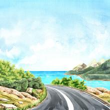 Coast Road To The Sea. Trip Co...