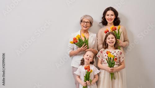 Obraz Happy women's day - fototapety do salonu