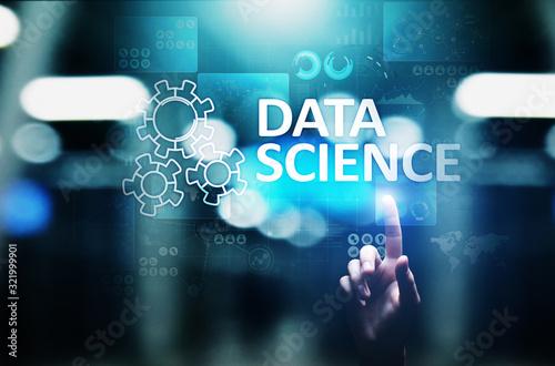 Cuadros en Lienzo Data science and deep learning