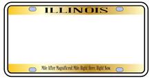 Blank Illinois State License P...