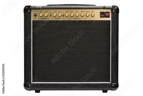 Electric guitar amplifier Fotobehang