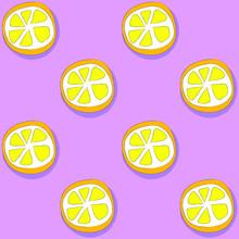 Tutti-Frutti Series Of Patterns With Fruit
