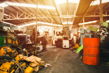 Blur Used Machinery Workshop G...
