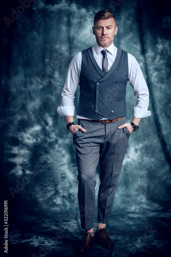 stylish brutal man Fototapet