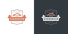Barbecue Logo Vector Illustrat...