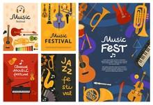 Music Festival. Jazz Concert, ...