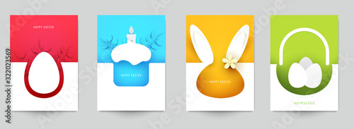 Happy easter concept Wallpaper Mural