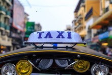Tuk Tuk Taxi Dans Les Rues De ...