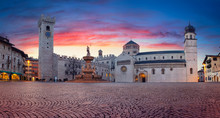 Trento, Italy. Panoramic Citys...