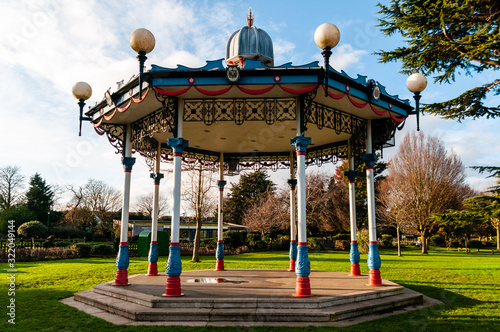 Photo Priory park bandstand, Southend on Sea, Essex.