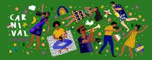 Brazilian Carnival And Festiva...