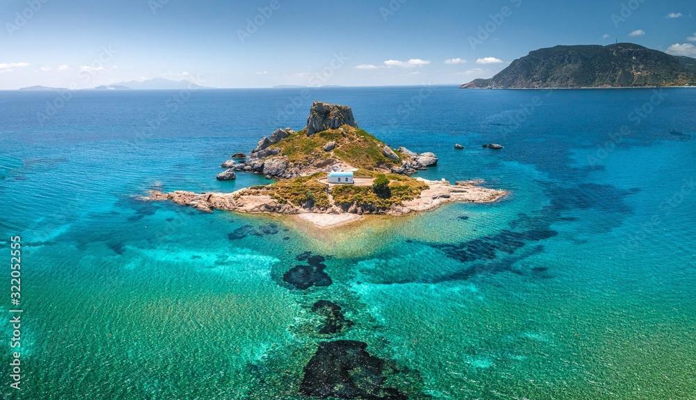 Fototapeta Kos kefalos kastri island