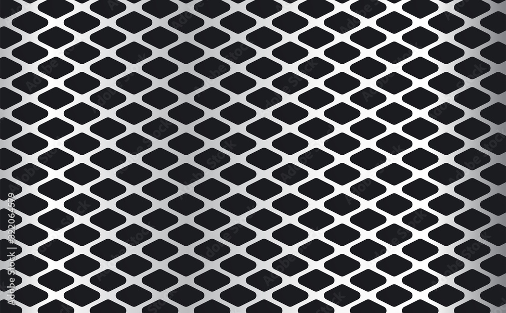 Fototapeta metal wire mesh sheets background. Steel grid background. metal textured sheet  background
