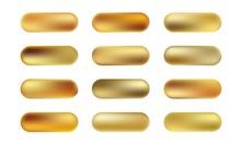 Big Set Of Gold Foil Texture B...