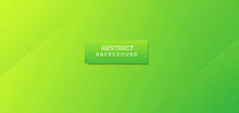 Abstract  Green Lemon Vibrant Color Gradient Background.