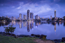Surfers Paradise City Skyline ...