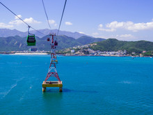 View Of The Vinpearl Cable Car...