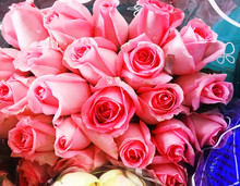 Bouquet Of Small Multi-colored...