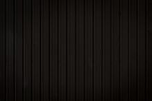 Black Metal Sheet Material Texture Background.
