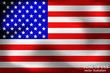 Happy America day background. Flag of USA with folds. Bright background with flag of USA. Vector Illustration.