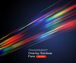 Rainbow Optical Lens Flare Vector Effect