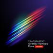 Overlay Rainbow Lens Flare Effect