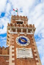 Clock Of The Venetian Arsenal,...