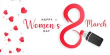 Happy Women's Day 8th March Po...