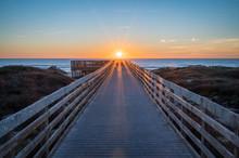 Sunrise Over The Texas Coast