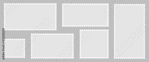 Fotografiet Postage stamps set