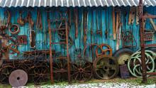 Rural Farm House Wall Used As ...