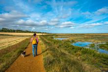 Morston Salt Marshes Seen From...