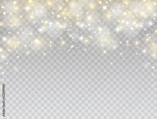 Cuadros en Lienzo Glowing light effect border